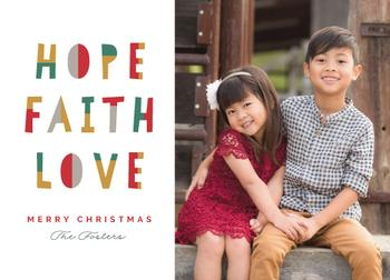Hope Faith Love Fun