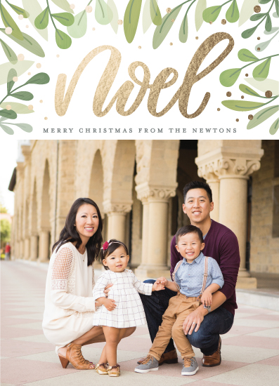 holiday photo cards - Abundant Noel by Cat Caudillo