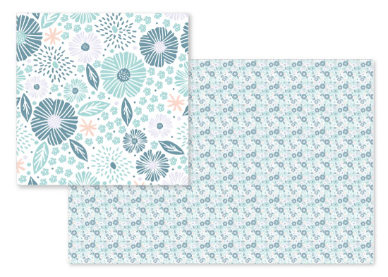 fabric - Liberty one by Bonjour Paper