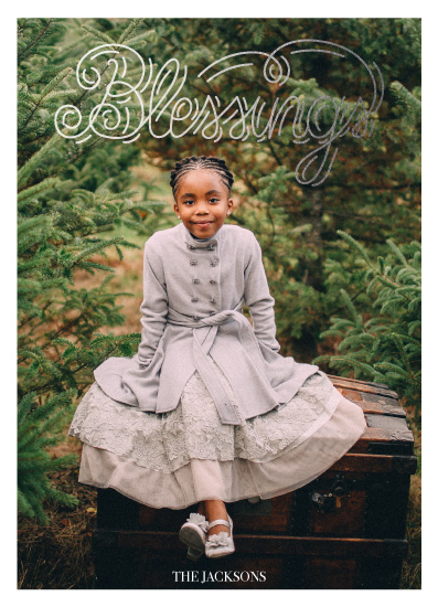 holiday photo cards - bless3 by Irini