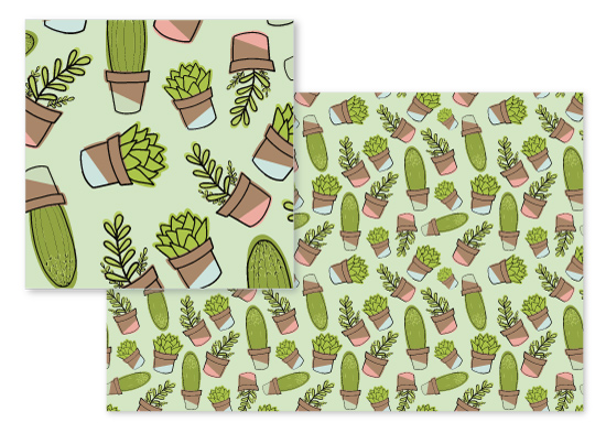 fabric - Cacti and Succulents by Jordyn Alison Designs