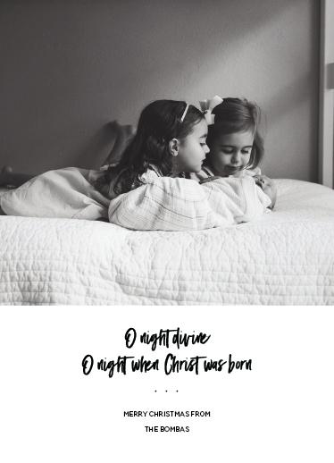 holiday photo cards - distinctly faithful by indreamliketones