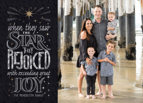 holiday photo cards - The Shining Star by Debbie Quist