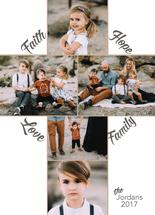 Faith Hope Love Family by Kate Pitner