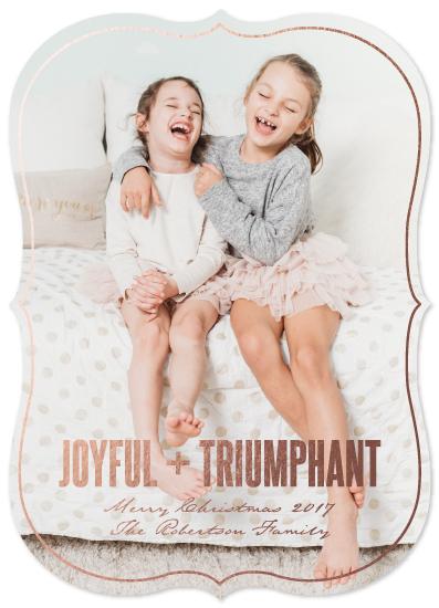 holiday photo cards - LOTS OF JOY by JOHANNA PURMORT