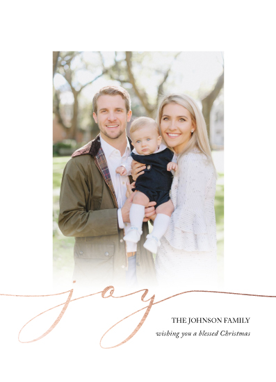 holiday photo cards - joy by Brittany Nixon