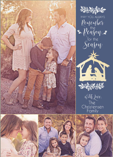 holiday photo cards - Reason for the Season by Kim Miller