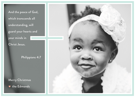 holiday photo cards - favorite verse by nocciola design