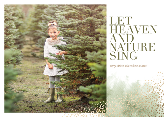 holiday photo cards - Heaven's Song by Eric Clegg