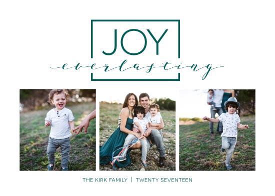 holiday photo cards - Isaiah Joy Everlasting by Jenna Pellman Design