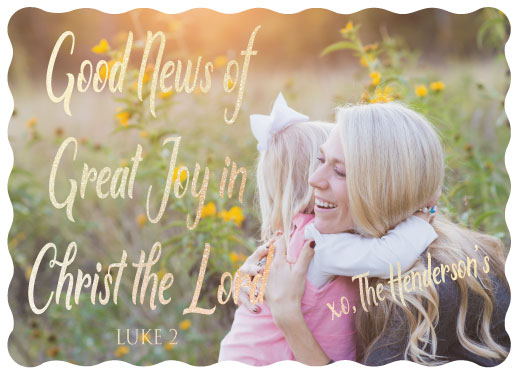 holiday photo cards - The Reason for The Season by Erin L Green