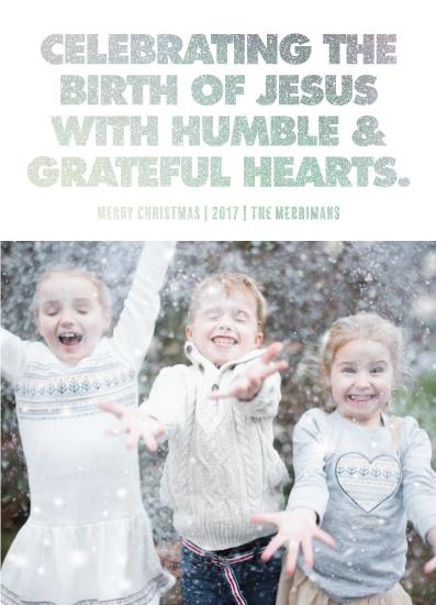 holiday photo cards - CELEBRATING JESUS by JOHANNA PURMORT