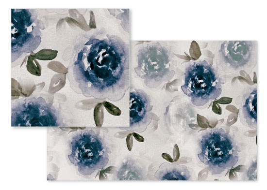 fabric - Dreamy Floral by Oriana Zens