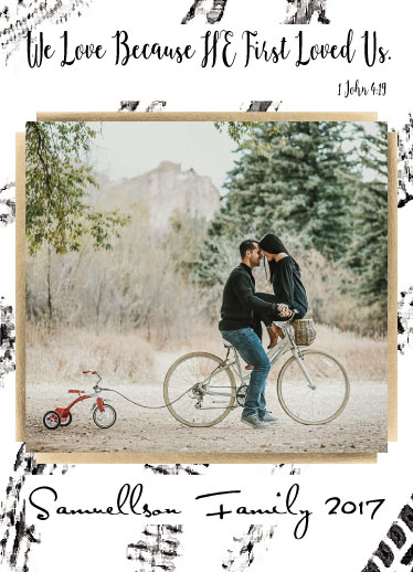 holiday photo cards - Bike for Christ by Erin L Green