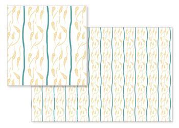 Autumn Wheat Stripes