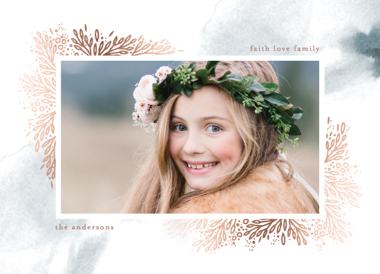 holiday photo cards - Bed of leaves by Phrosne Ras