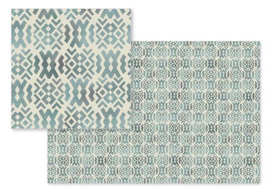 fabric - Dusty Aztec by Tiffany Bigner