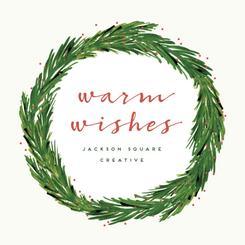 warm wishes wreath