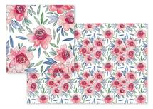 Pink flowers by Rachel Rogers
