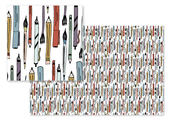 fabric - Art Supplies by Sara Curtis
