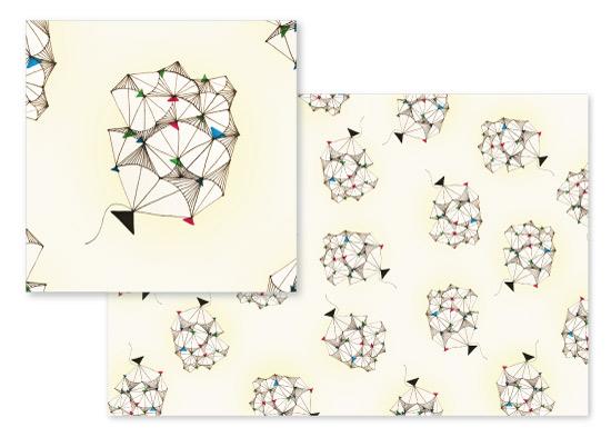 fabric - The tangled kite by Misari