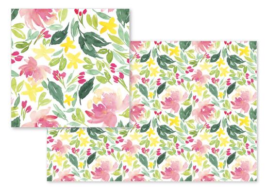 fabric - Floral Frenzy! by Taniya Varshney