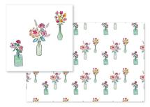 Watercolor Vases by Rachel Rogers