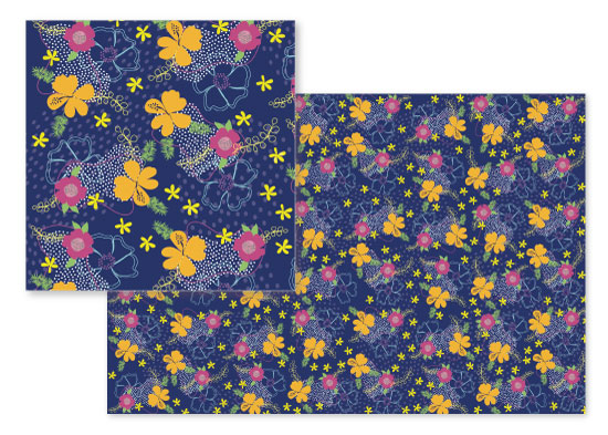 fabric - Modern Tropics by Ashlee Bordes