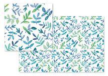 Watercolor Leaves by Rachel Rogers