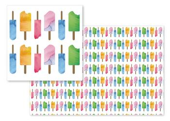 Watercolor Popsicles