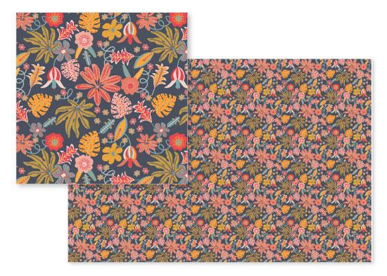fabric - Floral Fiesta by Camilla de Carvalho