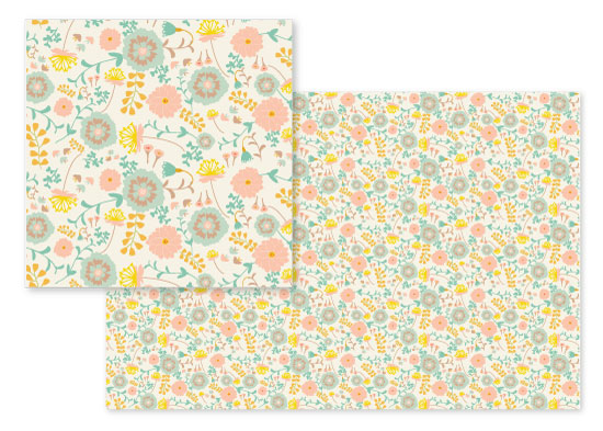 fabric - Flower Arrangement by Camilla de Carvalho
