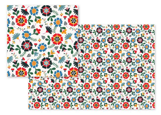 fabric - Russian Folk by Camilla de Carvalho