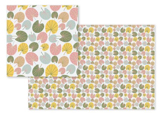 fabric - Palm Paradise by Camilla de Carvalho