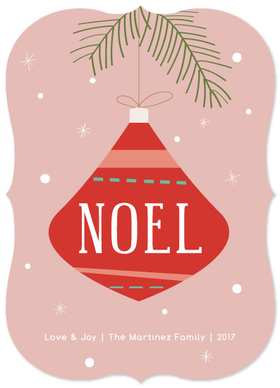 non-photo holiday cards - Decking the Tree by Danielle Romo