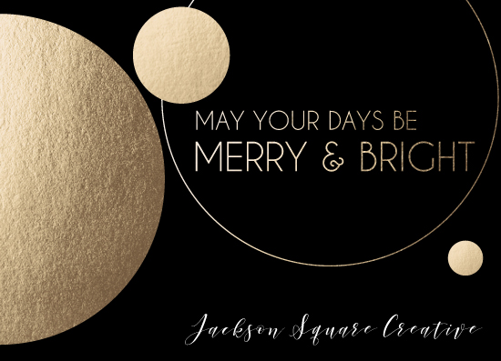 non-photo holiday cards - A Stellar Holiday by Salt and Light