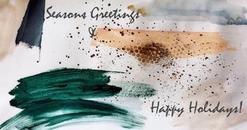 Splattered Greetings