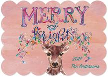 Merry and Bright Reinde... by Kelly Cline