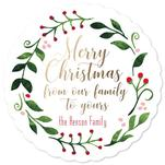 Merry Merry Wreath by Emily Cellini Henson