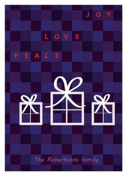 Gifts of joy, love, peace