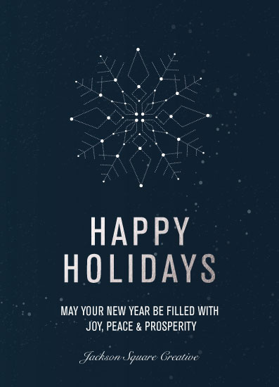non-photo holiday cards - A Bright New Year by Alex Selsor
