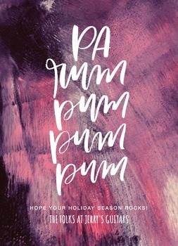 Pa Rum Pum Pum Pum