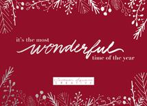 Handwritten Wonderful i... by Cassandra Yzaguirre