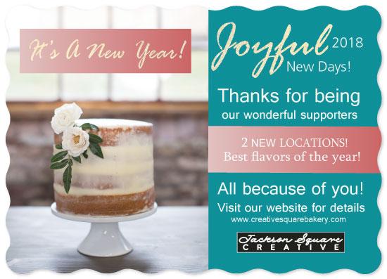 non-photo holiday cards - Joyful New Days too by Joyfuldesignsklmr