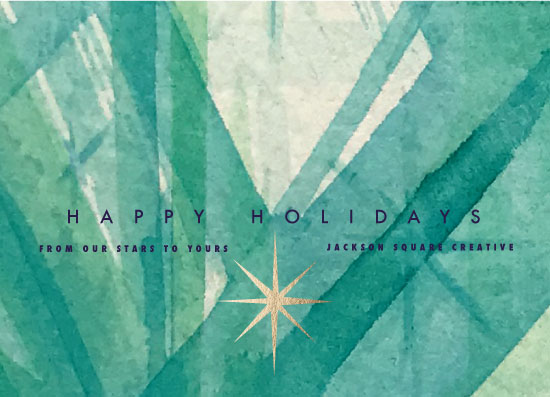 non-photo holiday cards - Holiday Star by Tresa Meyer-Clark