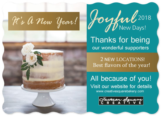 non-photo holiday cards - Joyful New Days by Joyfuldesignsklmr