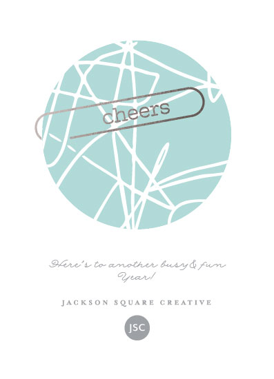non-photo holiday cards - Global Cheers by Jan Shepherd