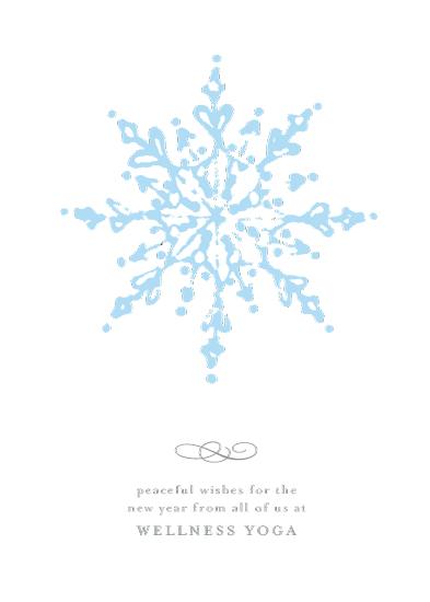 non-photo holiday cards - mandala by Julee London