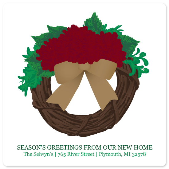 non-photo holiday cards - Housewarming by Julee London