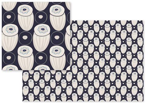 fabric - Modern Retro Vibes by Piia Põdersalu